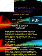 Water Logging and Soil Compation Ppt