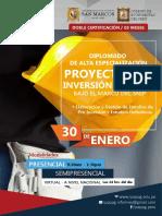 Brochure Proyectos de Inversion Publica Snip