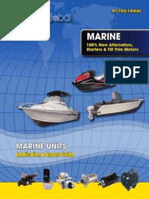 Starter Relay Solenoid Yamaha C85TLR Outboard Boat Motor Engine 1995 1996 NEW