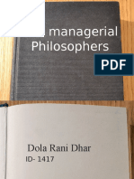 managerial philosophers