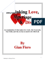 Rethinking Love, Marriage & Divorce