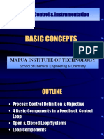 Basic Concepts of Process Control