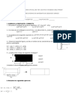 Documents.mx Examen de Matematicas Segundo Ano Bloque 2