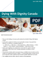 Dying with Dignity Canada-Ipsos Public Affairs