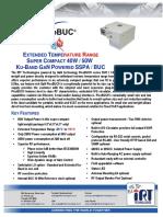 iRT PicoBUC Extended Temperature Range Ku-band 40/50W GaN SSPB