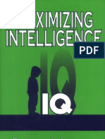 Maximizing Intelligence IQ