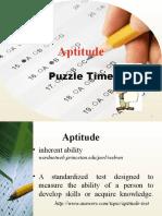 Aptitude 10-3-2010