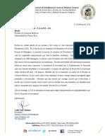 Carta petición renuncia presidente UPR
