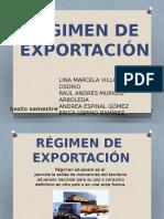 Regimenes de Exportacion