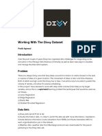 Working with the Divvy Data Set