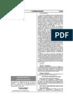 Decreto Supremo Nº 003-2015-MTC Reglamento Ley 29022 Fortalecimiento de La Expancion de Infraestructura en Telecomunicaciones