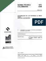 Norma Tecnica Colombiana 4349 Edificios-Ascensores (1)