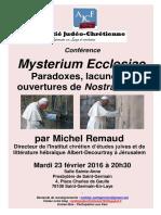 AJC St Germain - Invitation Conférence - 23 Février 2016