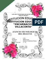 Avances Tecnologicos Del Siglo Xx