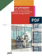 PwC Peer to Peer Lending