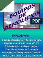 Explosivos y Equipos