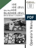 Operator's Manual GEHL - 3640e-3840e-4240e