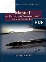 Manual de Redaccion Jurisdiccional Carlos Perez Vazquez