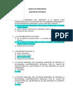 Preguntas Asistente Contabilidad para un proceso de contratación