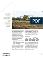 Bored Pile Retaining Walls Datasheet (Skanska Cementation)