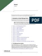 Introduction to WebLogic Server 11g- e13752