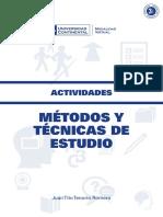 a0315 Metodos y Tecnicas de Estudio Actividades