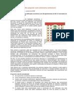 Prédio popular com alvenaria estrutural - reportagem