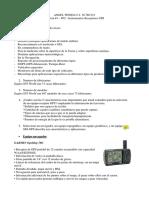 Resumen de Equipos GPS