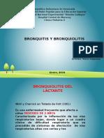 Bronquiolitis y Bronquitis