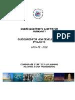 Dubai  Water Supply- MajorProjectGuidelines2008_DEWA Water