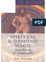 Spiritual and Demonic Magic From Ficino to Campanella