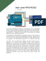 Tutorial Modulo RFID Arduino