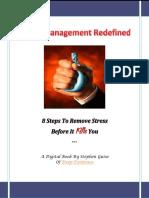 Stress Management Redefined Digital Book