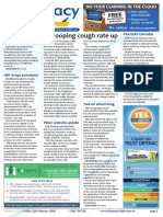 Pharmacy Daily for Fri 12 Feb 2016 - Whooping cough cases quadrupled, FDA 8% fund increase bid, PSA supports cannabis bill, Events Calendar and much more