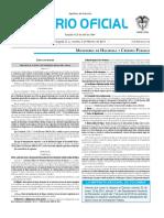 Diario oficial de Colombia n° 49.781 09 de febrero de 2016