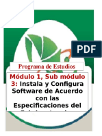 Temario General de Instala y Configura Software, 2016. Montanafreshh.blogspot.com