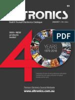 2016 Altronics Build It Yourself Electronics Catalogue
