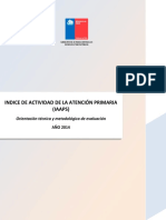 MINSAL 2014 Orientaciones Iaaps