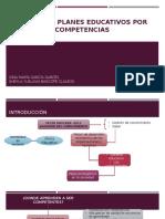 Diseño de Planes Educativos Por Competencias