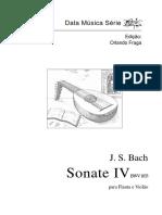 Bach - Sonata IV (Duo, Flauta y Guitarra)