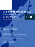 Asia-Pacific Rebalance 2025 - Capabilities Presence n Partnerships - January 2016 - Center for Strategic and International Studies