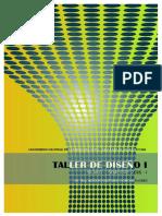 Silabo Taller de Diseño 1 - 2016-I