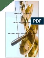 Manual de Apoyo de Derecho Marítimo