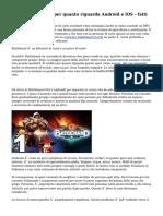 BattleHand Crack per quanto riguarda Android e iOS - fatti