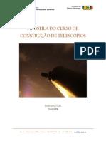 Apostila Construção de Telscópis