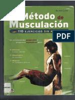 Metodo de musculacion 110 ejercicios sin aparatos