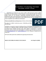 Notification IIT Guwahati JRF Posts