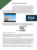 10 Blogs Marketing Et Social Media À Suivre
