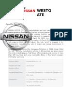 SAMPLE Nissan Westgate Strama Paper