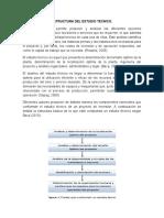 Estructura Del Estudio Tecnico